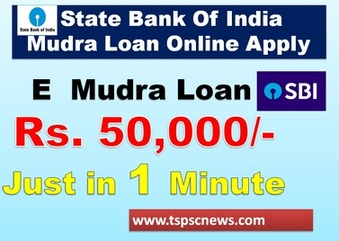 State Bank Of India Mudra Loan Online Apply